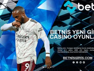 Betnis Yeni Giriş Casino Oyunları